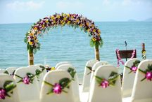 Flower Arch ~ www.weddingsinthailand.com