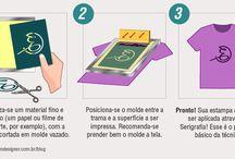 Serigrafia / Silk-screen / Imagens relacionadas ao mundo da Serigrafia.