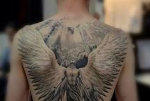 Tattoo engel