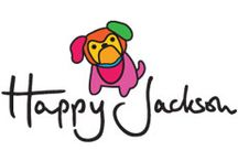 Happy Jackson / Happy Jackson's cheerful collection is full of big colours, uplifting slogans, and playful designs which are guaranteed to put a smile on your face! Available to buy from Red Candy: http://www.redcandy.co.uk/brands-happy-jackson.php