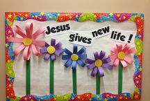 Church Bulletin Board / by Breanna Pate