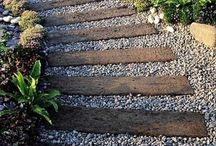 Garden Ideas with Reclaimed Wood / Some ideas for the garden using recycled wood and timber