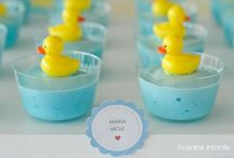 Baby Shower: Food & Drinks / DIY Easy and cheap foods for my baby shower