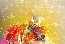 лошади / своенравные. независимые / by Lyudmila Shiryaeva