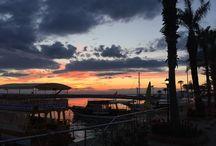 Solnedgangen / Sunsets