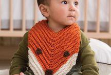 Babies -- crocheted Bibs