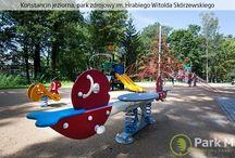 Place Zabaw / Kreujemy ogrody oraz parki, których piękno nie znosi kompromisów, a użyteczność pozwala się nim cieszyć przez lata. Realizujemy zagospodarowanie terenów rekreacyjnych i sportowych.