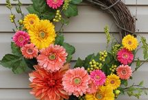 Door wreaths!