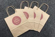 Printed Paper Bag - Manilla