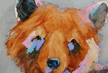 Paintings and Drawings of Animals / nature's creatures in wonderful artwork