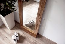 Wood Mirrors / Rustic mirrors from reclaimed wood, reclaimed wood mirrors, wood mirrors, wooden mirrors, farmhouse