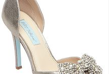 Betsey Johnson Bridal and Evening Shoes / The Blue Bridal shoes by Betsey Johnson