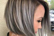 Short Grey Hair