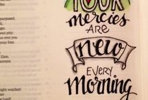 Bible journaling / by Cassie Brown