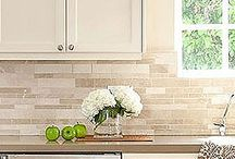 Tile Backsplash / by Stephanie Allen
