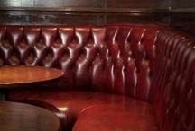 London pub seating