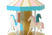 Carousel! / Carousel theme original designs by Nilmara Quintela