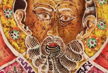 Batik - St. Nicholas / By Mine Aydoğan