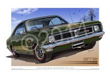 Holden Automotive Art Prints / New And Classic Holden cars