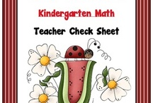 KIndergarten Common Core / by Sherry Clements