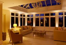 Conservatory Lighting / Conservatories can be a magical place in the winter, and it's all about the lighting! Have a browse through our conservatory range!