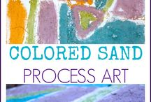 PROCESS ART FOR KIDS / process and play based art projects for toddlers, preschoolers and elementary school children