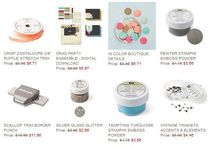 Stampin' Up! Specials & New Products / Specials and New Products from Stampin' Up!  Order online at my store www.monika.stampinup.net - SHOP NOW - open online 24/7.