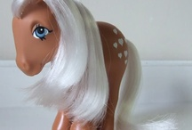 My Little Pony & More / 80s toys!  I love them all dearly.