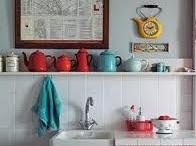 Vintage Kitchens / Vintage Kitchens, retro kitchen farmhouse kitchen