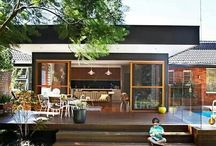 Exterior: Decks and Pergolas / How can you use decks and pergolas to create outdoor areas for your home that feel great, and provide shade or shelter for outdoor use. Be it timber, or metal, or a combination of materials and landscaping, here's some inspiration for you.
