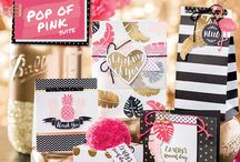 Stampin' Up! Pop of Pink Specialty DSP