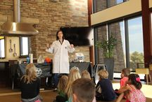 BackCountry Kids Science Fair / Our youngest residents enjoyed a science-filled afternoon at the Sundial House.