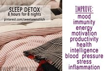Sleep Detox! / Join me for the Pinterest Challenge - Sleep Detox with 8 hours for 8 nights! {www.AlyssaFit.com}