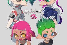 Splatoon équipe