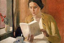 Woman&Books