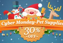 Cyber Monday Deals! / 30% OFF ALL PET PRODUCTS. Use coupon code: cybermon at check out