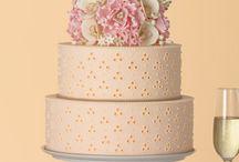 Chic and elegant weddingcakes / these are my  idea of elegant cakes. / by Aukje De Groot-Waterman
