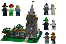 Halloween lego ideas