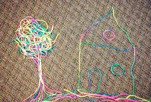 things with string
