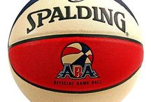 Spalding Basketballs / Men's and Women's regulation spalding basketballs along with NBA team logos in the mini-size.
