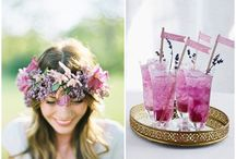 A Radiant Orchid Wedding / Radiant Orchid is tipped by Pantone to be the 2014 colour of the season. Be inspired by this gorgeous colour palette and the ideas you can build around it to create your spectacular wedding