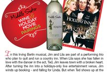 Holiday Movies and Wine Pairing! / Here are some of our favorite Holiday Movies paired with the Perfect Middle Sister Wines!