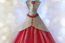 Vestidos peq papel