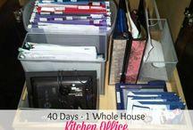 Office Organization / by Elizabeth Durrett Wersebe