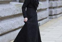 beautiful black abaya