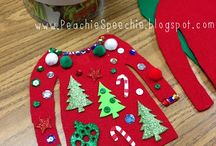 slp - winter tx / themes: gingerbread, toys, Christmas, winter clothing, snow, snowflakes, birds, space, nursery rhymes, Valentine's Day / by Mary Ellen White