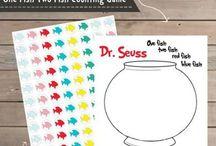 dr. seuss game board