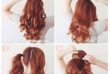 Pony tail ideas