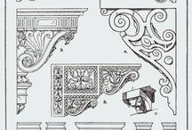 ornamenty, sztukateria