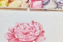 Pikapoppin Watercolor